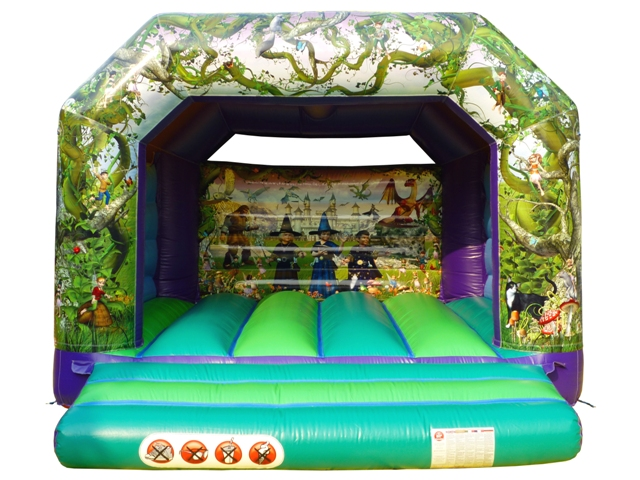 Wizard Fantasy Bouncy Castle