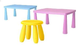Kids' Mini Tables and Stools